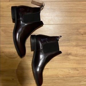 Shoe the bear wine coloured Chelsea boots